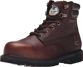 Georgia Georgia Mens Oiler-M Steel Toe Work Boot, Brown, 11.5 W US