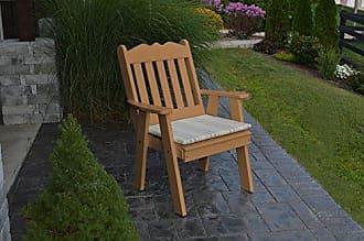 A & L Furniture A & L Furniture Poly Royal English Chair, Cedar