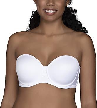 Vanity Fair Womens Beauty Back Strapless Full Figure Underwire Bra 74380, Star White, 42DD