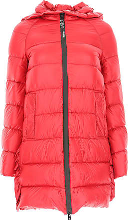 Twin-Set Daunenjacke für Damen, wattierte Ski Jacke Günstig im Sale, Rot, c4bc796e65