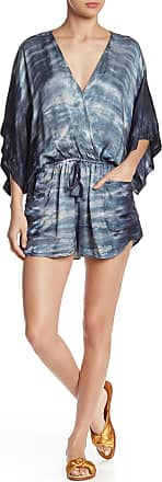 Young Fabulous & Broke Ashby Tie Dye Surplice Romper