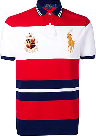 Polo Ralph Lauren crest-embellished polo shirt - Red