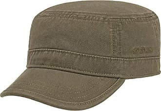 ff91ef0377b1ed Stetson Gosper Army Cap Military Style Baumwollcap Kappe Damen/Herren    Armycap Urbancap Armykappe mit