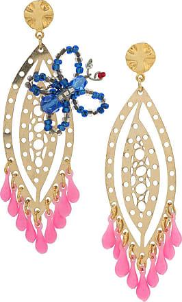 Amir Slama butterfly earrings - PINK