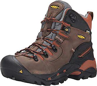 be6b767de4 Keen Mens Pittsburgh Soft Toe Work Boot,Cascade Brown/Bombay Brown,10D