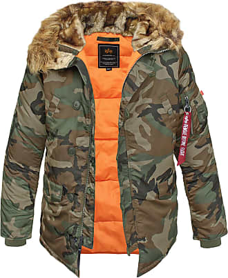 Alpha Industries N3B VF 59 Fliegerparka woodland, Größe 3XL