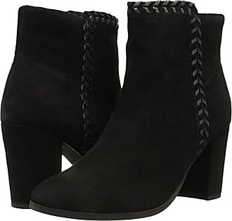 Athena Alexander Womens Heavenly Ankle Bootie, Black Suede, 10 M US