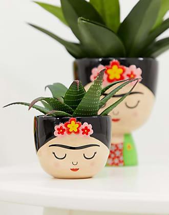 Sass & Belle Frida Kahlo mini plant pot-Multi