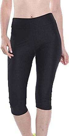 a3239510ad45e9 Keephen Sport Leggings Damen Sporthose Fitnesshose Mit Handytasche Yoga  Leggings Sporthose für Damen 10 Farben S