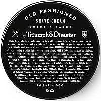 Triumph & Disaster Old Fashioned Shave Cream Jar