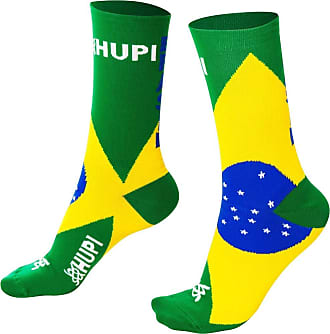 Hupi Meia Hupi Brasil, Cor: Único, Tamanho: Único