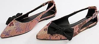Asos Wide Fit Lovelier ballet flats - Pink