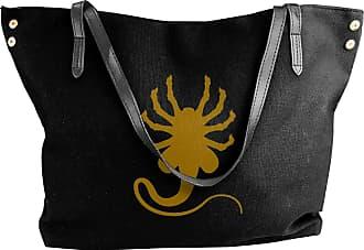 Juju Watch Your Back Womens Classic Shoulder Portable Big Tote Handbag Work Canvas Bags