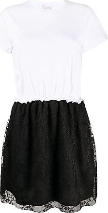 Red Valentino Vestido mangas curtas preto