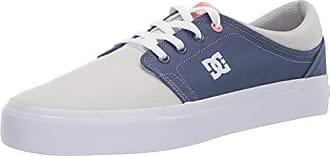 DC Womens Trase TX Skate Shoe Blue/Grey 9 M US