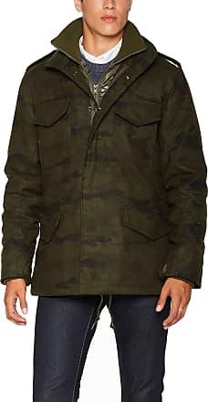 Brandit Mens M65 Voyager Wool Jacket, Multicolour (Woodland 10), XXL