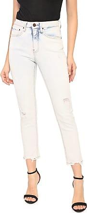 Calvin Klein Jeans Calça Jeans Calvin Klein Jeans Slim Cropped Azul