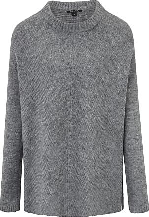 ea4490142dc1 Comma Pullover überschnittener Schulter comma, grau