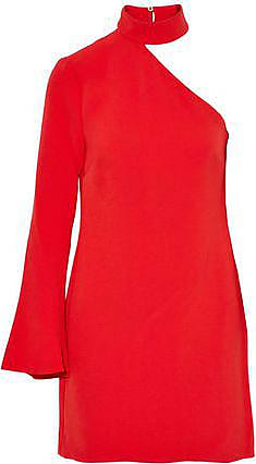 Rachel Zoe Rachel Zoe Woman One-shoulder Crepe Mini Dress Red Size 4