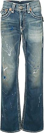 True Religion Calça jeans com lavagem estonada - Azul