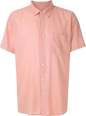 Osklen short sleeved shirt - PINK