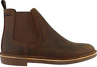 74c9957607b Clarks Mens Bushacre Hill Chelsea Boot, Beeswax Leather, 8.5 M US