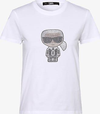 Karl Lagerfeld Damen T-Shirt weiss