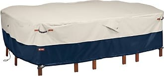 Classic Accessories 108x82x23 White Table Cover, Mainland