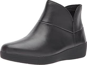 FitFlop Black Leather TM II Fitflop 37 090 Hautes Baskets Ankle All Supermod EU Femme Noir Boot HfqwHxrE