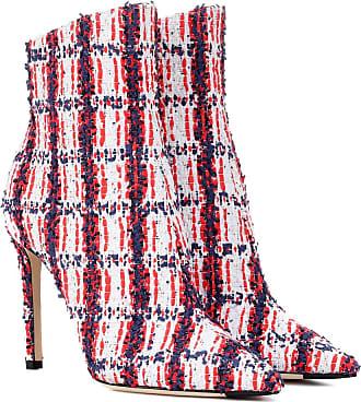 Jimmy Choo London Exklusiv bei Mytheresa - Ankle Boots Helaine 100 aus Tweed
