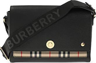 Burberry Logo Shoulder Bag Womens Black