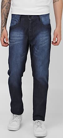 Fatal Surf Calça Jeans Fatal Slim Estonada Azul-Marinho