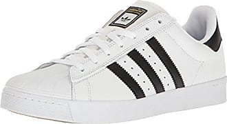 adidas Originals Mens Superstar Vulc Adv Running Shoe, Core Black/White, (5.5 M US)