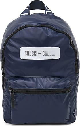 Colcci Fitness Mochila Colcci Fitness Lettering Azul