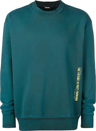Diesel panelled sweatshirt - Green