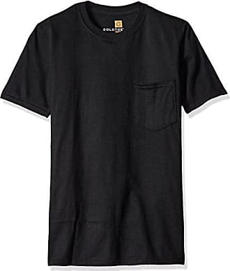 Gold Toe Mens Pocket T-Shirt, Black, Small