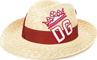 Dolce & Gabbana embroidered logo sun hat - NEUTRALS