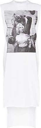 Christopher Kane Vestido com estampa Marilyn Monroe - Branco