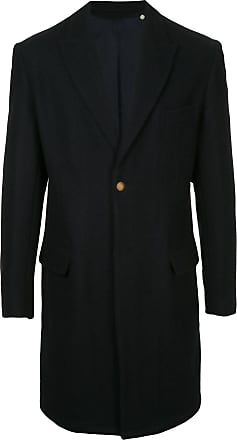 Kent & Curwen single-breasted coat - Black