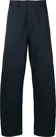 Universal Works wide-leg chinos - Azul