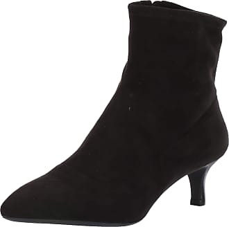 Rockport Womens TM Alaiya S Bootie Ankle Boot, Black Faux Suede, 7 UK Wide