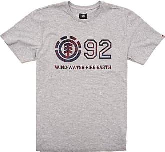 Element Camiseta Element Horizontal Fill Cinza