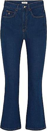 Attico Attico Woman Blanca High-rise Kick-flare Jeans Dark Denim Size III