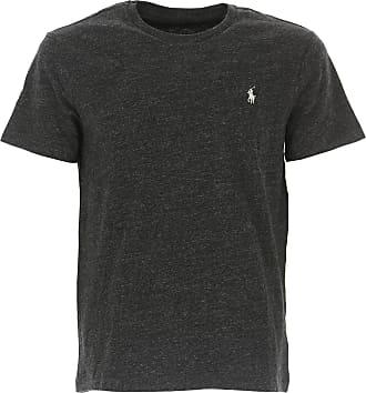 Ralph Lauren T-Shirt Uomo On Sale, Black Melange, Cotone, 2019, L M S XL XXL