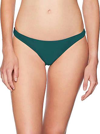 Bikini Lab Womens Banded Over The Shoulder Hipster Bikini Swimsuit Top