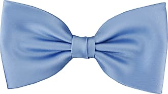 TigerTie prefabricated TigerTie bow tie bow tie in pastel blue monochrome + Gift box