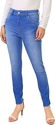 Dimy Calça Jeans dimy Skinny Estonada Azul