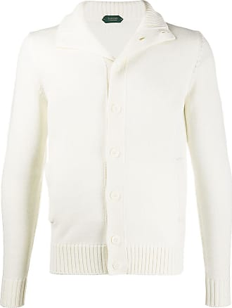 Zanone high-neck cardigan - Neutrals