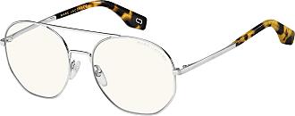 Marc Jacobs Womens Marc 327/S G6 Sunglasses, Palladium/Bl Blue, 57