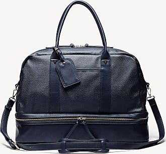 Sole Society Womens Mason Weekender Vegan Leather In Color: Indigo Bag From Sole Society